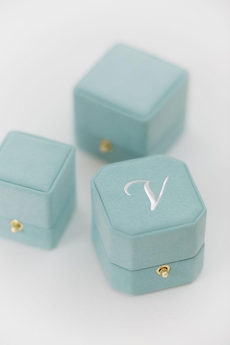 Bark-and-Berry-Petite-Grand-Lagune-classic-octagon-vintage-lock-wedding-embossed-engraved-enameled-individual-monogram-velvet-suede-ring-box-002