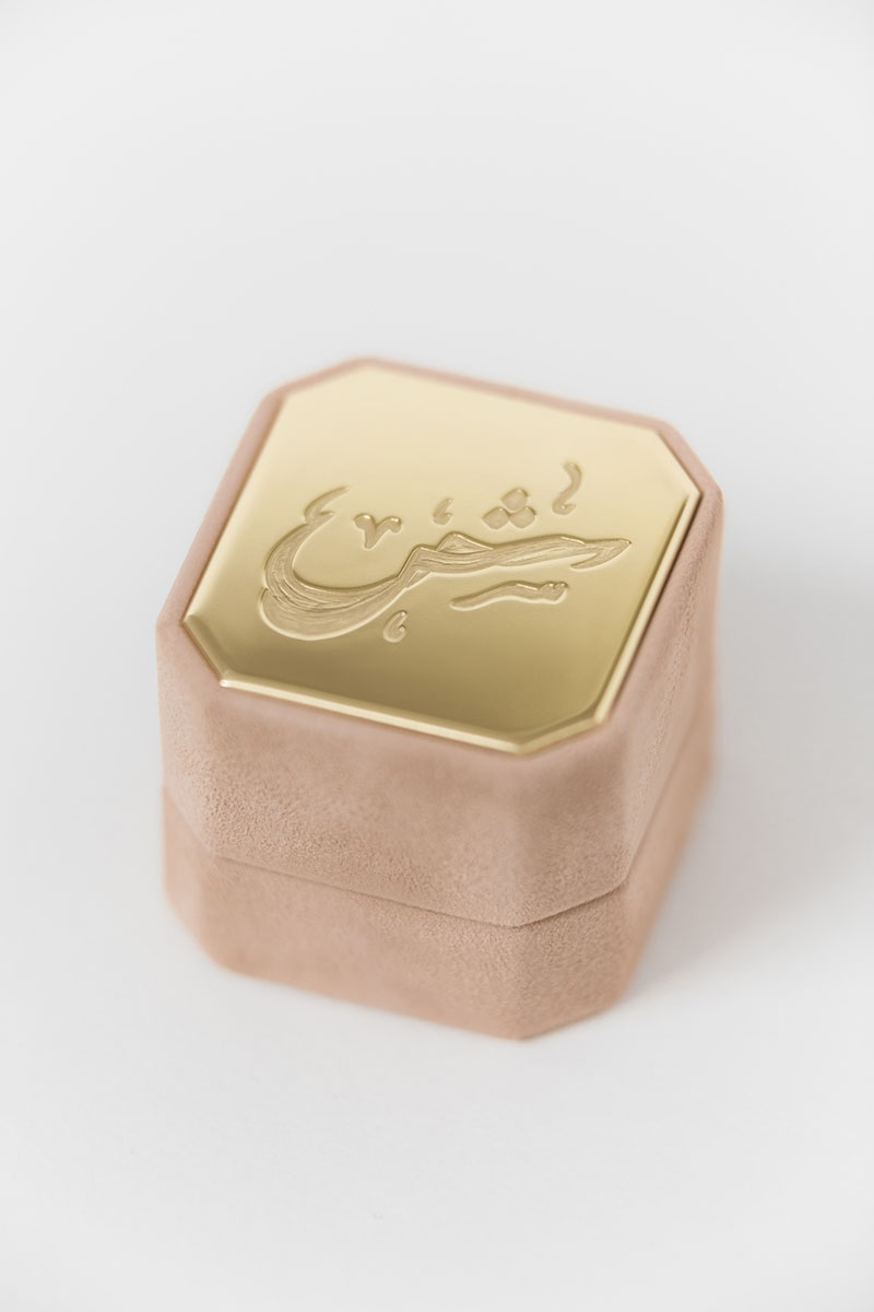Bark-and-Berry-Grand-Powder-octagon-vintage-wedding-engraved-embossed-enameled-individual-monogram-suede-velvet-ring-box-001