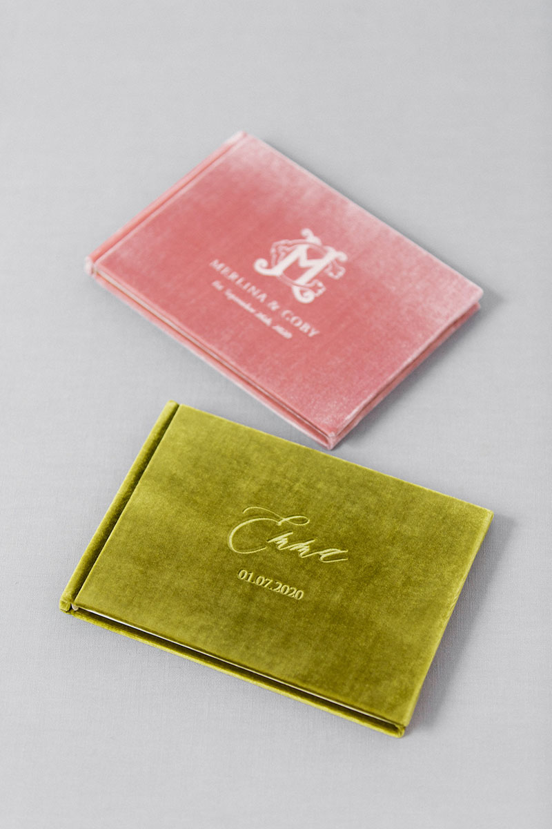 Bark-and-Berry-Olive-Vintage-Rose-vintage-velvet-wedding-embossed-monogram-guest-book-001