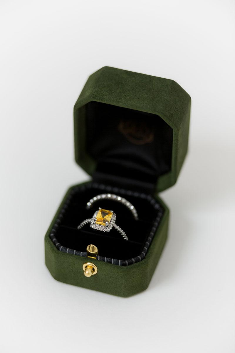 Bark-and-Berry-Grand-Charlotte-lock-octagon-vintage-wedding-embossed-engraved-enameled-individual-monogram-suede-velvet-ring-box-001