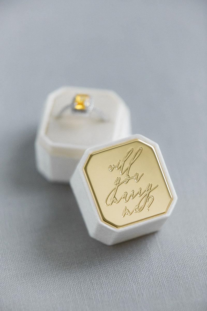 Bark-and-Berry-Petite-Ivory-octagon-vintage-wedding-embossed-engraved-enameled-individual-monogram-velvet-ring-box-004