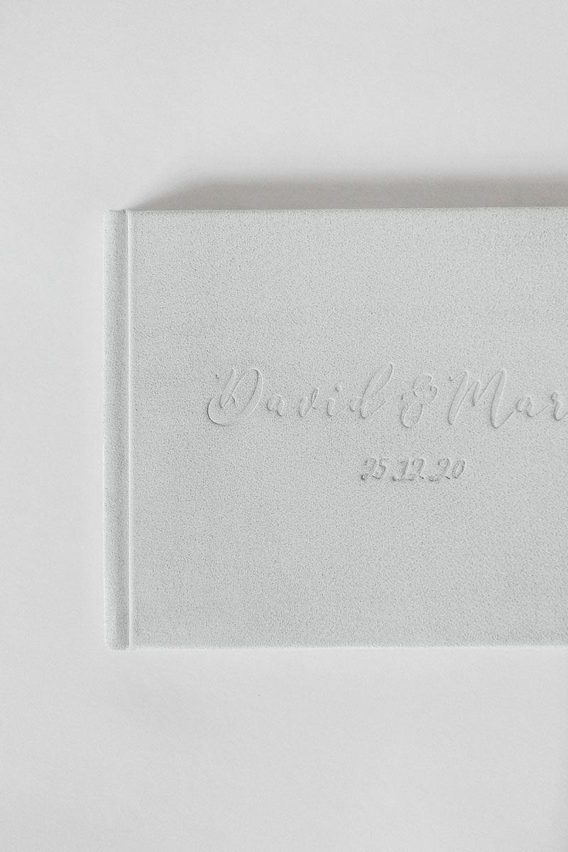Bark-and-Berry-Cloud-vintage-genuine-suede-wedding-embossed-monogram-guest-book-003