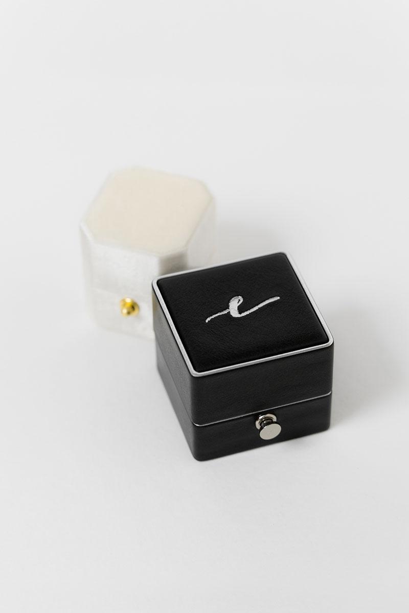 Bark-and-Berry-Grand-Ludovic-XIV-classic-Petite-Ivory-octagon-lock-vintage-wedding-embossed-engraved-enameled-edge-monogram-velvet-leather-ring-box-001