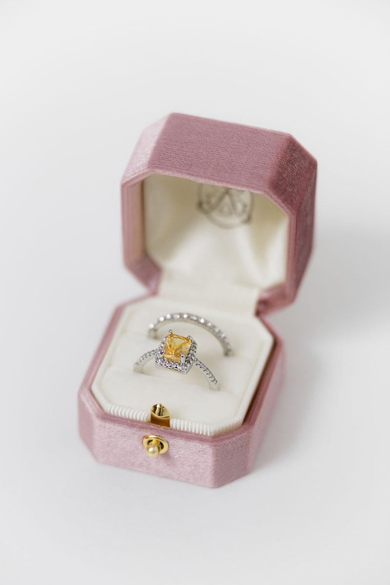 Bark-and-Berry-Grand-Vintage-Rose-lock-octagon-vintage-wedding-embossed-engraved-enameled-individual-monogram-velvet-ring-box-001