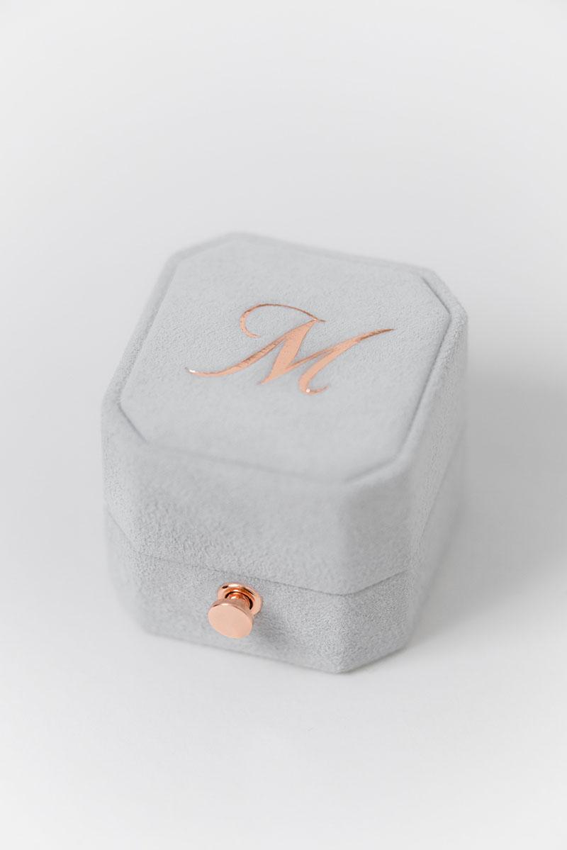 Bark-and-Berry-Grand-Cloud-lock-octagon-vintage-wedding-engraved-embossed-engraved-enameled-individual-monogram-suede-velvet-ring-box-001