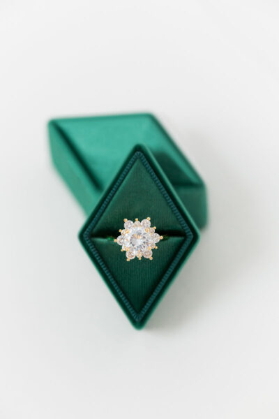 Velvet Diamond Ring Boxes