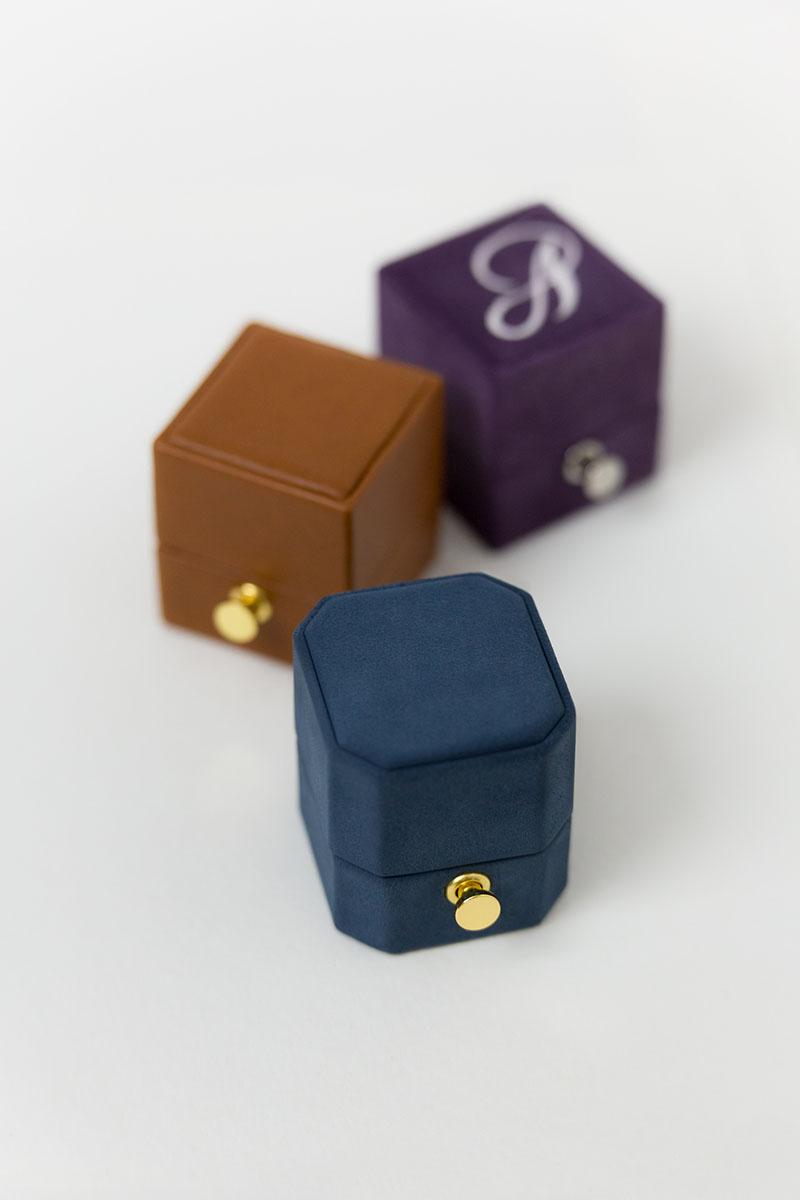 Bark-and-Berry-Petite-Nicholas-Alix-Bellflower-lock-octagon-classic-vintage-wedding-embossed-engraved-enameled-monogram-suede-leather-velvet-ring-box-001