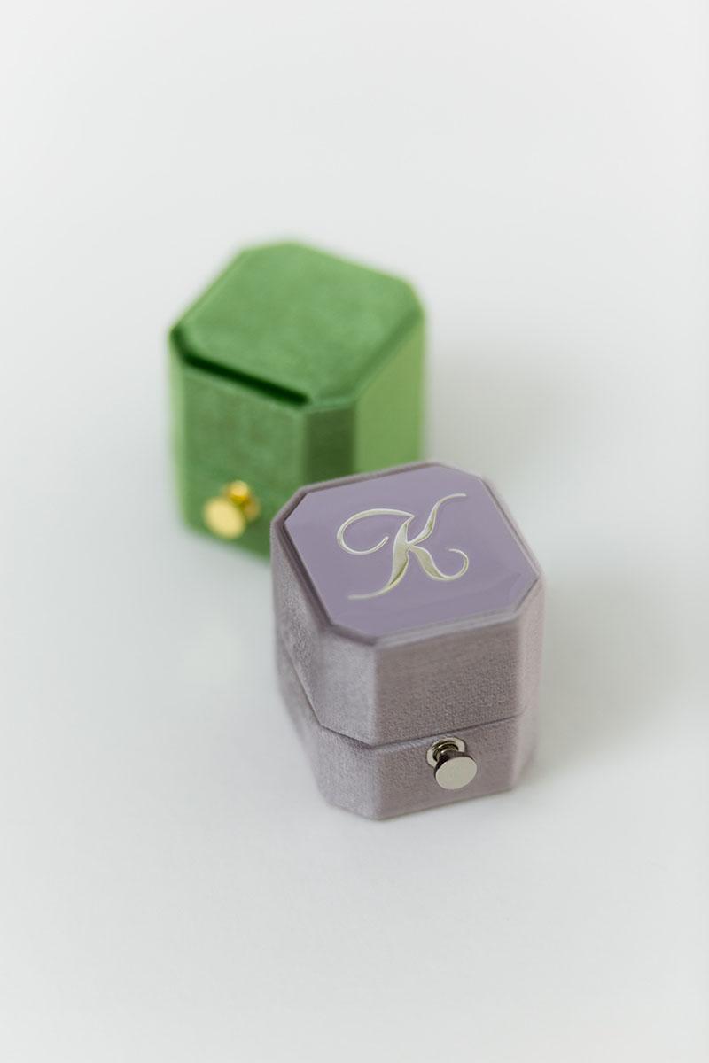 Bark-and-Berry-Petite-Amethyst-Forest-lock-octagon-vintage-wedding-embossed-engraved-enameled-monogram-velvet-ring-box-001