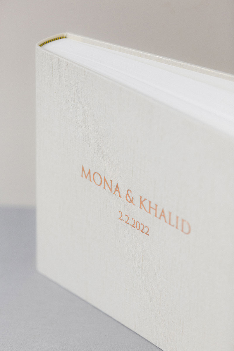 Bark-and-Berry-Ivory-Gold-vintage-linen-wedding-embossed-monogram-guest-book-photoalbum-33x27-001